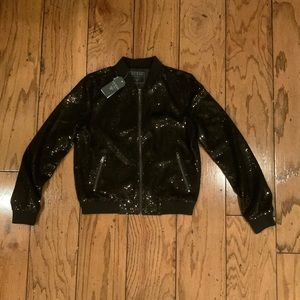 🔥NWT🔥 Guess Sequin Jacket
